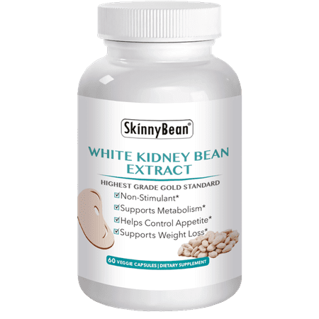 PREMIUM PURE White Kidney Bean Extract - Weight Loss Pills Phase 2 Inhibitor Carb Blocker Buster Pill - LOSE WEIGHT (The Best Pills To Lose Weight Fast)