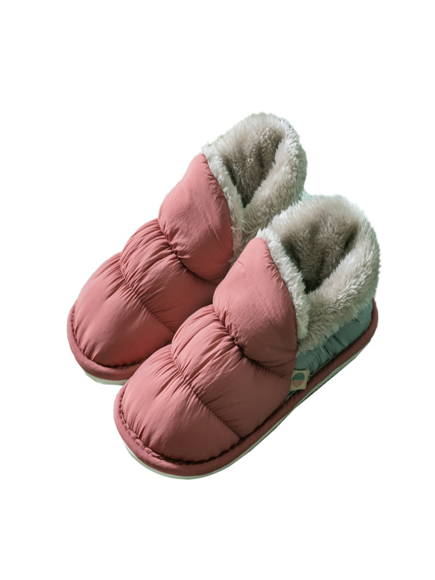 Winter Male House Warm Flat Shoes Home