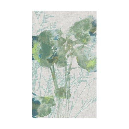 Watercolor Flower Panel II Print Wall Art By Jennifer Goldberger 2 Painted Wall Panels