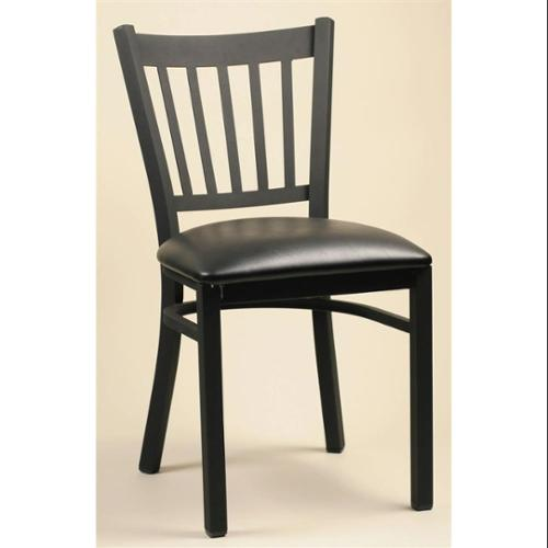Side Chairs In Solid Beech Wood w Wood or Upholstered Seats - Set Of 2 (Mahogany, Choose Upholstered Seat)