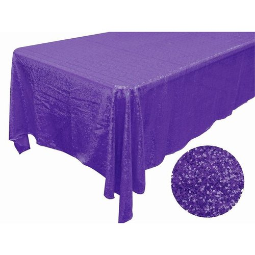 Luxury Collection Duchess Sequin Tablecloth 60 X 126