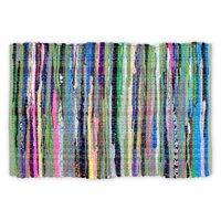 "DII Multicolor Handmade Rag Rug, 20"" x 31.5"""