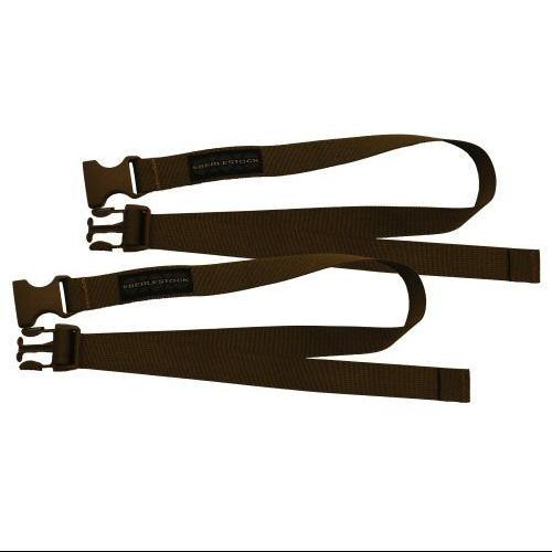 Eberle Stock Accessory Straps, 36In, Side Release, Dry Earth Acsl