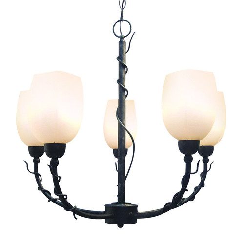 Woodbridge Lighting Tuscany 5-Light Shaded Chandelier
