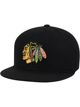 ba9331520 Product Image Chicago Blackhawks American Needle Deep Dish Fitted Hat -  Black