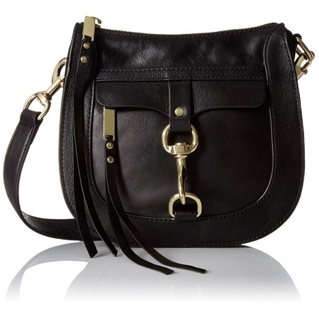Rebecca Minkoff Dog Clip Saddle Bag, Black