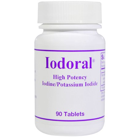 Optimox Corporation  Iodoral  Iodine Potassium Iodide  90 (Iodine Potassium)