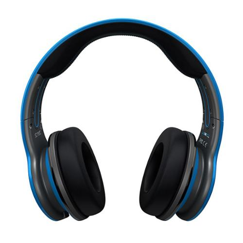 SMS Audio STREET by 50 Wired Over-Ear Headphones Blue