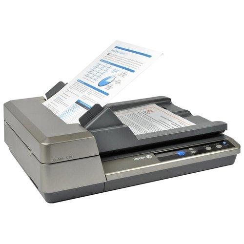 Xerox Documate 3220 Sheetfed Scanner 24-bit Color - 8-bit Grayscale - 600dpi Optical