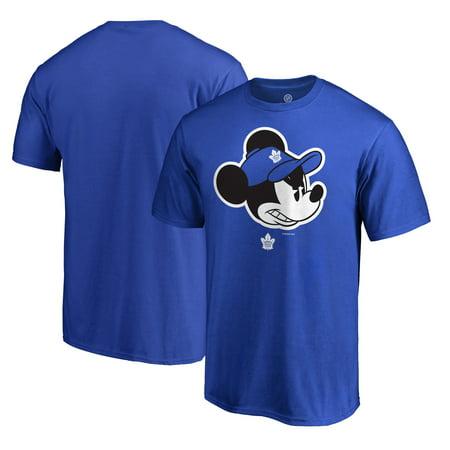 Toronto Maple Leafs Snap - Toronto Maple Leafs Fanatics Branded Disney Game Face T-Shirt - Blue