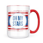 Christmas Cookie Tin Oh My Stars Fourth of July Red, White, And Blue Mug gift for Coffee Tea lovers