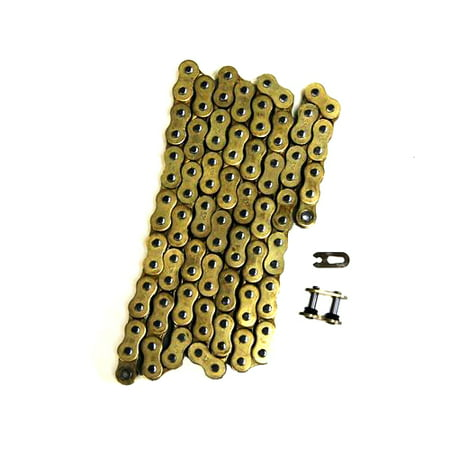 Gold 530x104 O-Ring Drive Chain Motorcycle 530 Pitch 104 Links 8200#