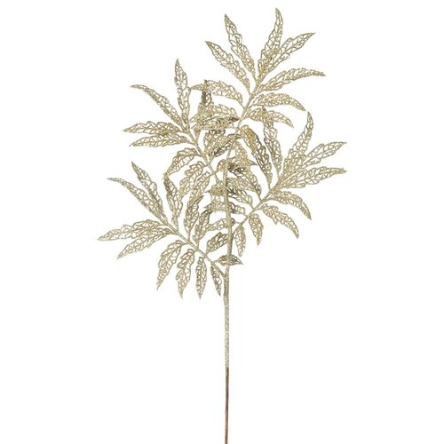 The Holiday Aisle 6 Piece Glitter Sumac Branch (Set of 6)