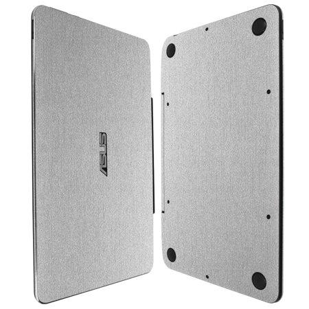- Skinomi Brushed Aluminum Skin & Screen Protector for Transformer Book T100 Chi 10.1