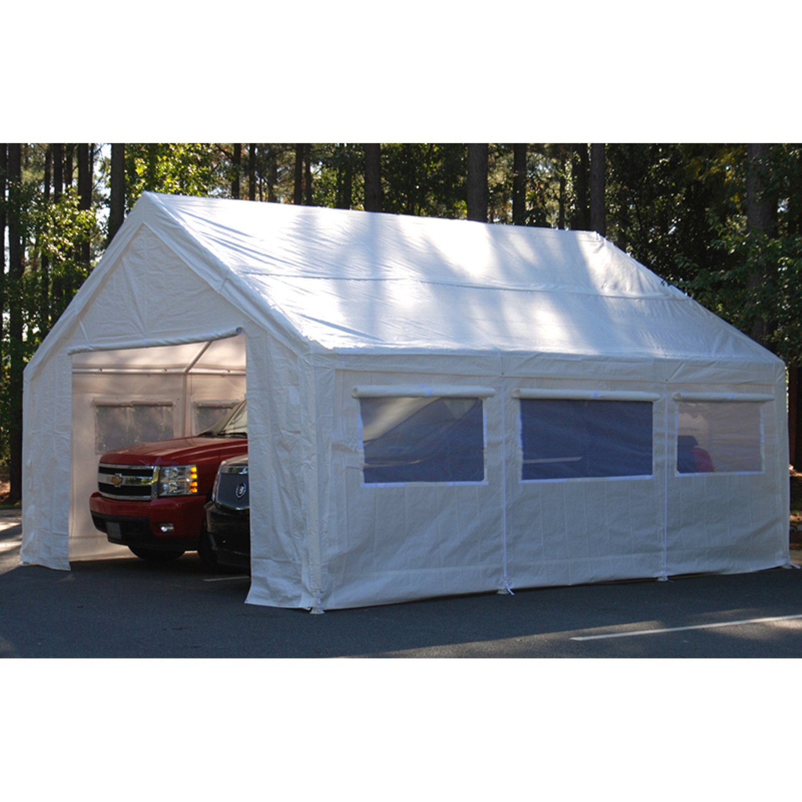 King Canopy Canopy Sidewall Kit with Flaps and Bug Screen