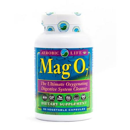 Aerobic Life Mag O7 Oxygen Detox Colon Cleanse 90 Veg