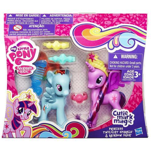 Princess Twilight Sparkle & Rainbow Dash Figure 2-Pack My Little Pony