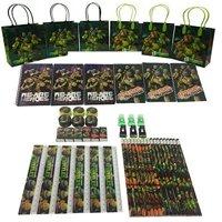 "Teenage Mutant Ninja Turtles S 6.5"" Goody Bag Party Favor Stationery (54pc)"