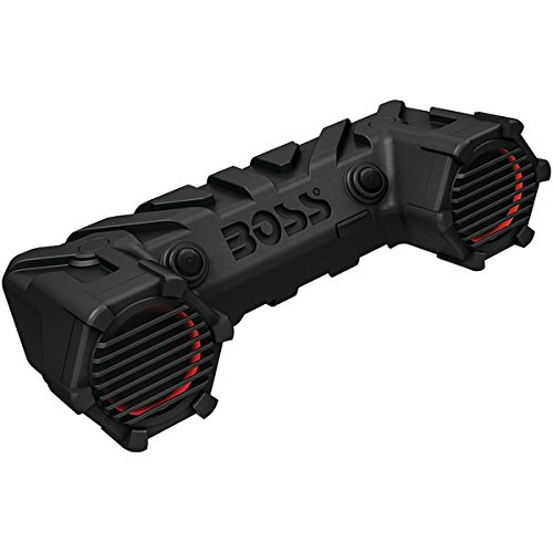 Boss Atv30brgb Speaker System - 450 W Rms - Wireless Speaker[s] - Bluetooth - No - Wireless Audio Stream, Led Lights, Water Proof (atv30brgb)