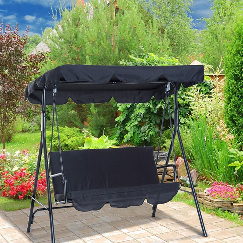 Heavy Duty Counter Stools, Outdoor Patio Swing Canopy Top Cover Porch Garden Bench Hammock Sun Shading Replacement 190 132 15cm Walmart Com Walmart Com