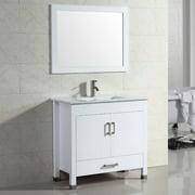 Adornus Amadis 30'' Single Vanity Set with Mirror