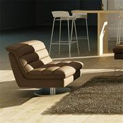 JandM Furniture 180621-Ch Astro Swivel Chair - Chocolate