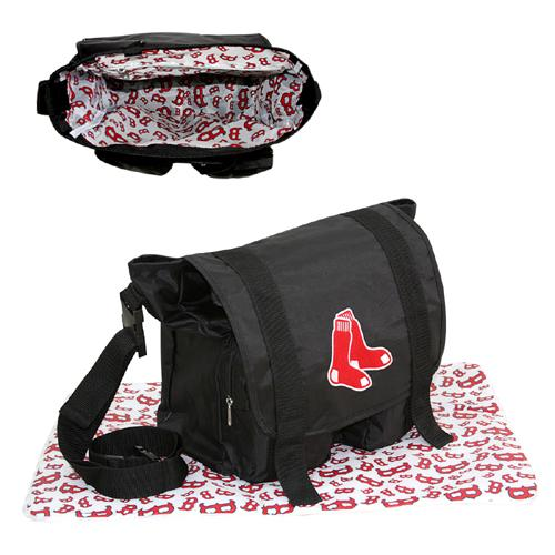 Concept 1 CNO-MLBO5754 Boston Red Sox Mlb Sitter Baby Diaper Bag