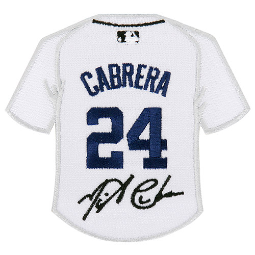 Miguel Cabrera Detroit Tigers Player Patch - No Size