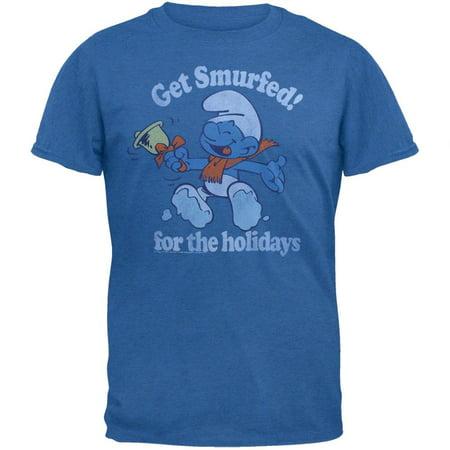 Smurfs - Holiday Smurfed Soft T-Shirt](Smurf Couple)