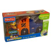 fisher-price world of little people michael and his emergency tow truck