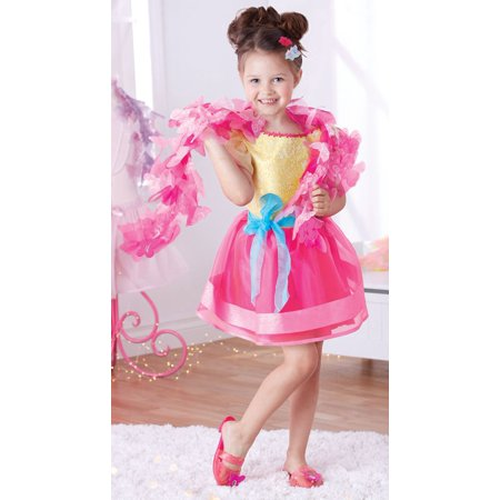 Fancy Nancy Signature Dress-up Dress (Halloween School Girl Fancy Dress)