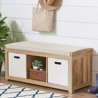 Deals on Better Homes and Gardens 3-Cube Organizer Storage Bench