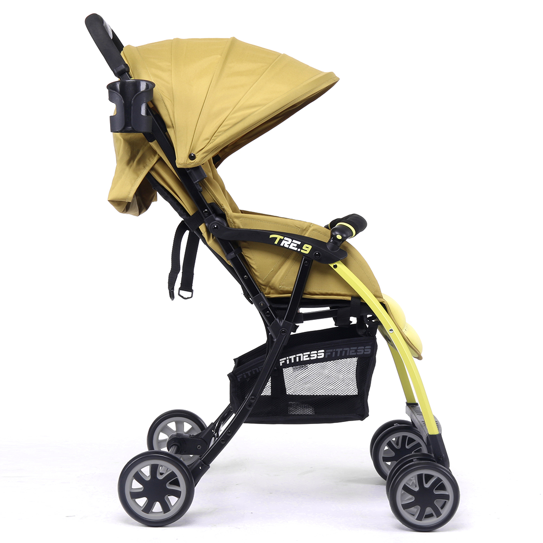 Pali Ultra Lightweight Tre.9 Stroller Fitness Fashion in Brasil Green - Only 11 lbs.
