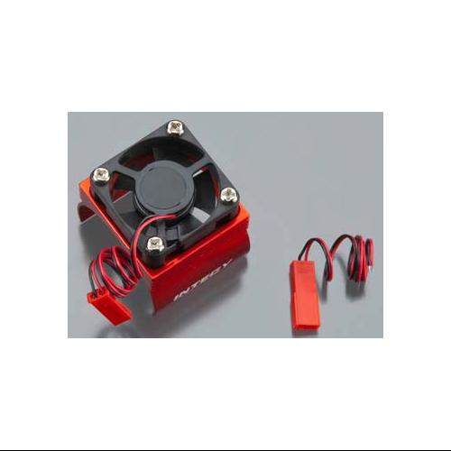 Integy RC Toy Model Hop-ups C23140RED Super Brushless Motor Heatsink+Cooling Fan 540 Size BL