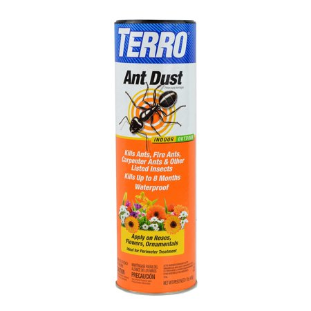 TERRO T600 Ant Dust - Kills fire ants, carpenter ants, cockroaches, spiders 1