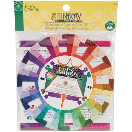 Dritz Quilting Rainbow Color Selector, 5