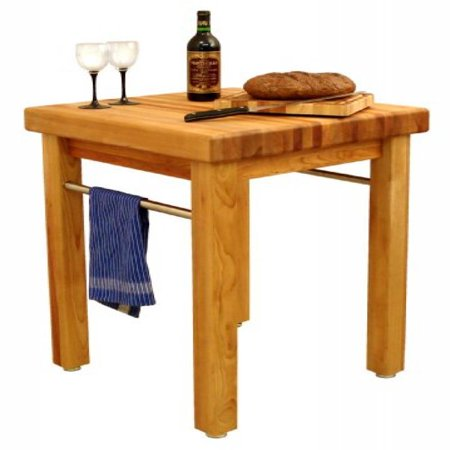 Catskill Craftsmen Kitchen Kitchen Cart - catskill craftsmen french country butcher-block table