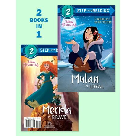 Mulan Is Loyal/Merida Is Brave (Disney Princess)