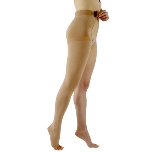 Image of Sigvaris Compression Thigh High W/Waist OT 40-50mmHg