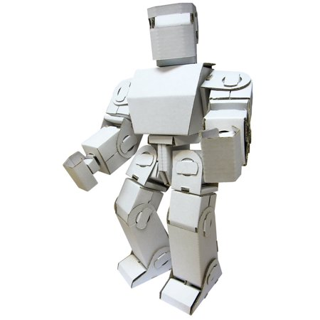 Funny Paper Furniture Mini Robot Adam DIY Cardboard Toy- 7 4' x 3 5' x 15 5'