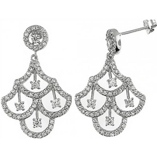 Doma Jewellery DJS01873 Sterling Silver Earring with CZ