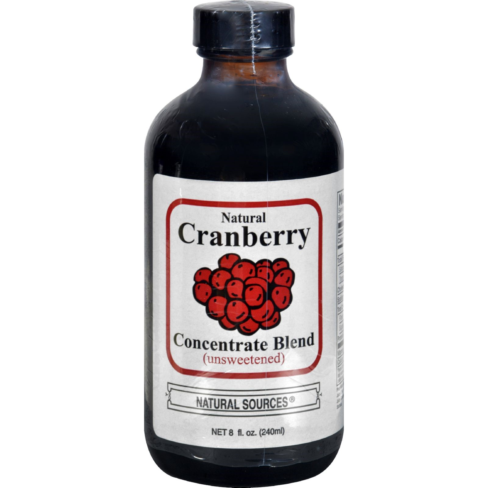 Natural Sources Cranberry Concentrate - 8 Ounce