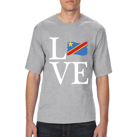 46cdb0085 Love Congo Unisex Ultra Cotton T-Shirt Tall Sizes - Walmart.com