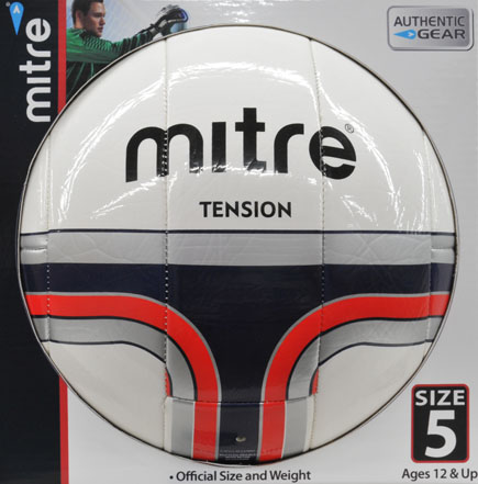 Mitre Tension NFHS Approved Size 5 Soccerball