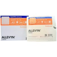 """Smith Nephew 66020044 Adhesive Foam Dressing 5"""" x 5"""" - Box of 10, The unique triple action technology helps to maintain an optimal balance in fluid creating a.., By Allevyn,USA"""