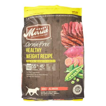 Merrick Grain Free Healthy Weight Dog Food Reviews