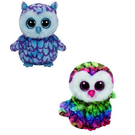 "Ty Beanie Boos Owl Combo – OSCAR   OWEN 6"" Plush - Walmart.com da386747762c"