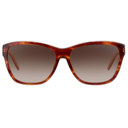 L658S 218 Light Havana Rectangle Sunglasses