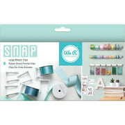 Snap Storage Ribbon Clips, 6pk