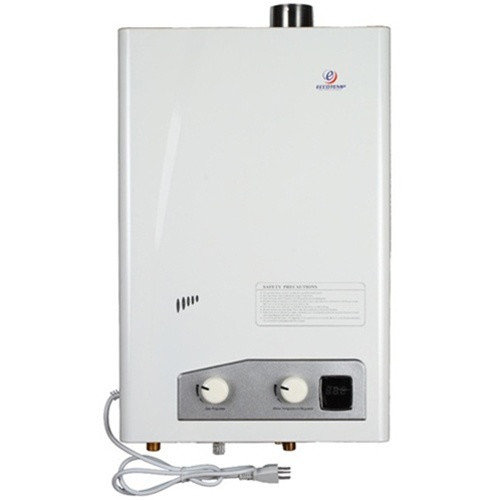 Eccotemp Systems LLC FVI12-NG Natural Gas Indoor Forced Vent Tankless Water Heater